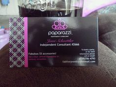Paparazzi jewelry business card template and earring set my awesome business cards colourmoves