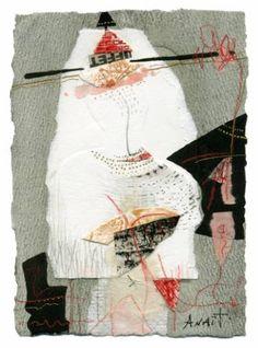 """Saatchi Art Artist Anait Abramian; Collage, """"Mirror effect"""" #art"""