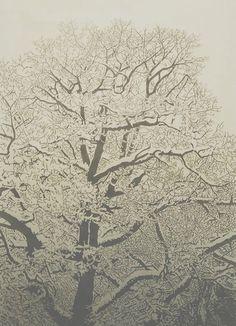HANNAH SKOONBERG - Devotional Linoleum cut relief print