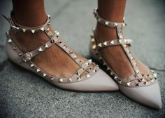 valentino studded flats- the only Christmas present on my list this year