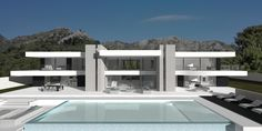 Modern Turnkey Villas in Spain, France, Portugal