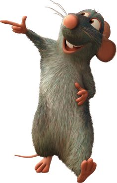 'Remy the Rat ' Sticker by Ratatouille Disney, Disney Drawings, Cartoon Drawings, Animal Drawings, Disney Films, Disney And Dreamworks, Disney Clipart, Baby Girl Images, Disney Concept Art