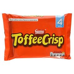 Toffee Crisp Chocolate Bar 152 g (Pack of 4) No description (Barcode EAN = 7613034964649). http://www.comparestoreprices.co.uk/december-2016-3/toffee-crisp-chocolate-bar-152-g-pack-of-4-.asp