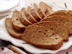 Apple butter adds extra moistness and natural sweetness to this Zucchini Bread.