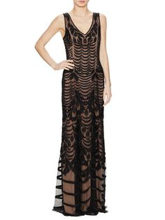 Temperley London Wave Embroidery V-Neck Gown $4,445 $1,899