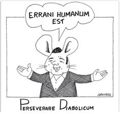 Informazione Contro!: Errani Humanum Est