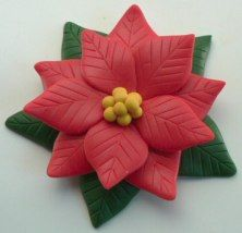 Another poinsettia craft for Christmas, this time with clay like Fimo or Sculpey. {tutorial here} You'll need: Polymer clay in red, green and yellow Knife to cut clay Ceramic tile or plate (to cut ...