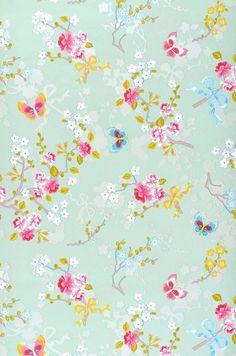 Benina   Floral wallpaper   Wallpaper patterns   Wallpaper from the 70s