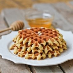Gluten-Free Almond Flour Waffle Recipe from Cooking for the Specific Carbohydrate Diet.