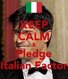 Pledge Matteo Setti's  Italian Factor