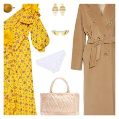 """""""Untitled #5043"""" by amberelb ❤ liked on Polyvore featuring Gucci, MaxMara, Annie Costello Brown, Antonello Tedde and Eberjey"""