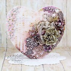 Ręką robione...: Drewniane serce/ Wooden heart