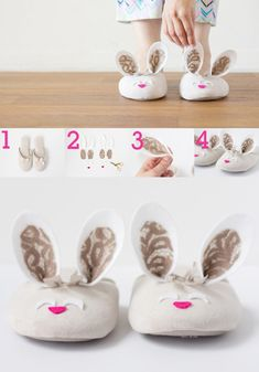 4 Ways to Transform Slippers Unique Creations