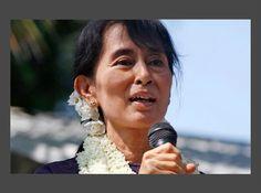 Aung San Suu Kyi Chef de la Ligue Nationale de la Démocratie pour la Birmanie, Aung San Suu Kyi est une femme forte. Celle qui pourrait écrire la définition d'injustice de ses expériences personnelles, démontre une force de caractère et une bravoure hors du commun. Sa lutte non-violente pour une démocratie birmane et pour les droits de l'homme s'inspire grandement des actions de Matin Luther King Jr. et de Mahatma Gandhi, ce qui lui a valu une reconnaissance internationale exceptionnelle…