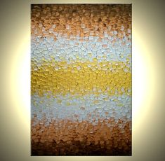 Original Abstract Painting Metallic Art Modern by Laffertyart, $137.00