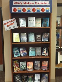 Library Madness 2016 Contenders! Our top 32 books checked out this year.