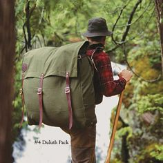 Duluth Pack, we fell in love at first sight.