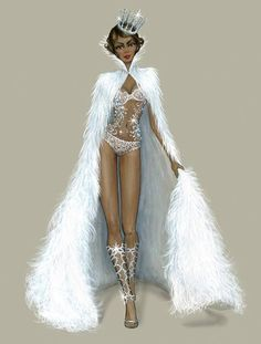 Snow Angel Sketches  Be Inspirational ❥ Mz. Manerz: Being well dressed is a beautiful form of confidence, happiness & politeness