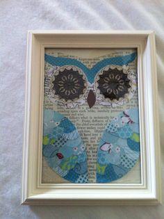 Owl Wall Art- DIY | by star28923