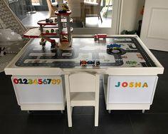 Multifunktionstisch selber bauen: Straßentisch und Eisenbahntisch_05. www.limmaland.com