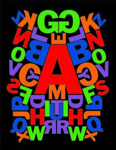 Alphabet No. 101 Franklin Gothic No. 2