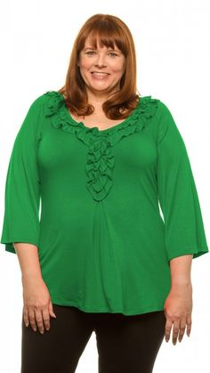 """Want a soft plus size top that covers your tummy and butt? Of course you do """"Regular & Plus-Sized Tops: Covered Perfectly for Women Over 40, 50, 60"""" - read why I like these tops at http://boomerinas.com/2013/07/18/micro-modal-tops-covered-perfectly-fits-women-over-50-60/"""