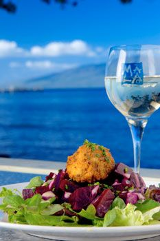 Upcountry Beet salad with mac nut crusted goat cheese... The best I have found so far