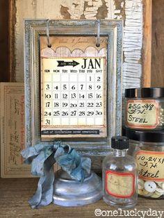 http://www.oneluckyday.net/2015/11/2016-flip-frame-calendar.html
