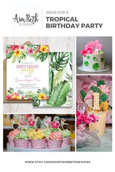 Ideas for hosting a Luau Birthday Party. #birthdayparty #luaubirthdayparty #tropicalbirthdayparty #girlbirthdayparty #summerbirthdayparty #tropicalparty #girlbirthday #birthdaypartyinspo #invitationtemplate #editablebirthday #invitationtemplate #printableinvitation Girls Birthday Party Themes, Luau Birthday, Little Girl Birthday, Happy Birthday Banners, Birthday Party Invitations, Baby Shower Invitation Templates, Printable Invitations, Tropical Party, Donut Party