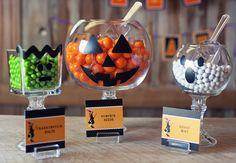 Cute idea for candy jars. photos via @angiearthur