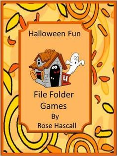 halloween file folder games - Halloween File Folder Games