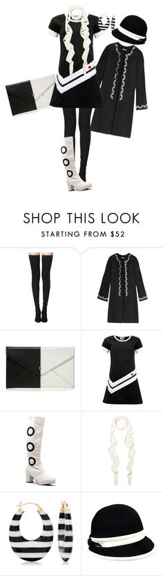 """Untitled #1391"" by pholtond on Polyvore featuring Tamara Mellon, AG Adriano Goldschmied, Red Herring, Balenciaga and Ross-Simons"