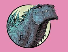 online portfolio of freelance artist Leonardo Antonio Gonzalez Cool Monsters, Classic Monsters, Big Lizard, Godzilla Wallpaper, Strange Beasts, Httyd Dragons, Prehistoric Creatures, Arte Horror, Dragon Art