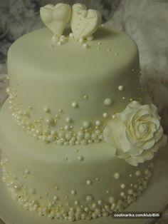 moja prva svadbena tortica :) — Coolinarika