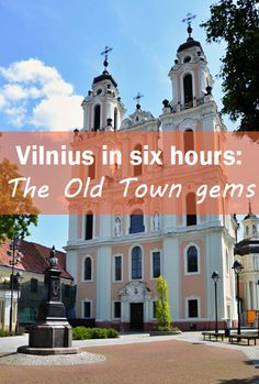 What not to miss in The Old Town of Vilnius: http://thejourneyjournal.com/vilnius-in-six-hours/ #travel #vilnius #lithuania