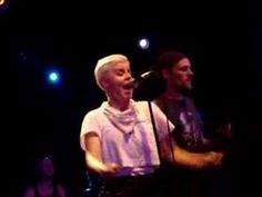 "Robyn at Highline Ballroom ""With Every Heartbeat"". Love her."