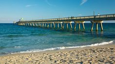Soft sand, warm waters, this is Deerfield Beach ☀️🌊