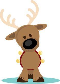 PPbN Designs - Reindeer with Jingle Bells (40% off for Members), $0.30 (http://www.ppbndesigns.com/reindeer-with-jingle-bells/)
