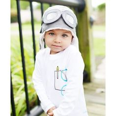 Ruggedbutts.com - Gray Aviator Hat