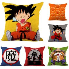 Cheap Decorative Pillows, Buy Directly from China Suppliers:Japanese Cartoon DRAGON BALL Son Goku Throw Massager Decorative Vintage Pillow Fiber Emoji Pillow Case Cover Home Gift Decor