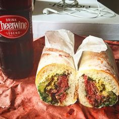 Harry & Ida's Meat and Supply Co - New York, NY, United States. strami and cheerwine