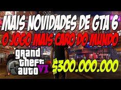 Urgente Mais Bomba! GTA 6 Jogo mais caro do Mundo $300 MILHÕES Tsunamis,...