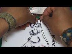 Tutorial Macrame (3) 1/2 Tecnica S (Pulsera) / Las3Raices - YouTube