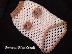 Crochet Dog Clothes, Crochet Dog Sweater, Crochet Hats, Beaded Earrings Patterns, Pet Fashion, Dog Sweaters, Crochet Animals, Lana, Diy And Crafts