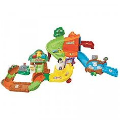 FOR EVAN :)  The Go! Go! Smart Animals Zoo Explorers Playset plays sounds, music, and phrases, and interacts with the included SmartPoint Rhino.