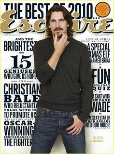 bale's esquire magazine cover - Google Search