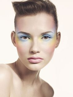 Blog: Make-up shoot for Vogue - Chalky Pastels Trend