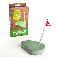 18th Hole Notepad - fun gift for golfers #christmasgiftsformen