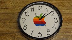 $75 2015 You will be bidding on a Vintage 1980's Osawa Apple Computers Clock. I have had this since the late 80's and it is in excellent condition and guaranteed to work upon delivery. I have not been able to