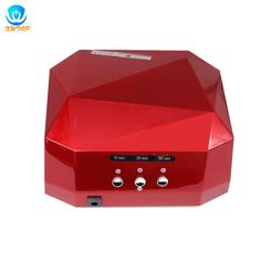Popular  Visit to Buy W LED Light Lamp UV Nail Art Dryer Curing CCFL Gel